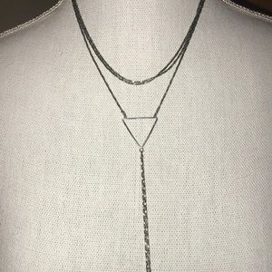 Forever 21 Jewelry - Silver Fashion Necklace!